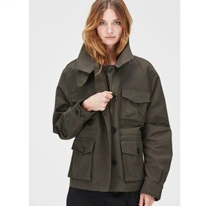 NWOT Hope STHLM Command Military Jacket - Green